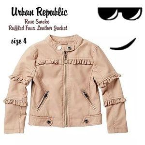 😎😎Bbabybboutique Urban Republic Moto jacket